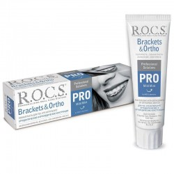 Rocs Brackets & Ortho Pro Özel Diş Macunu 100 ml