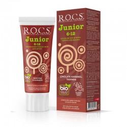 Rocs Junior 6-12 Yaş Diş Macunu - Çikolata ve Karamel Tadında 60 ml