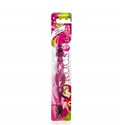 Rocs Kıds Çocuklar İçin Extra Soft Diş Fırçası (3-7 Yaş Kırmızı)