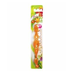 Rocs Kids Çocuklar İçin Extra Soft Diş Fırçası (3-7 Yaş Turuncu)