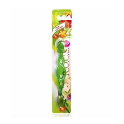 Rocs Kids Çocuklar İçin Extra Soft Diş Fırçası (3-7 Yaş Yeşil )