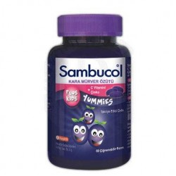 Sambucol Plus Kids Yummies 60 Adet