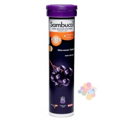 Sambucol Plus Siyah Elderberry Ekstresi 15 Efervesan_Tablet