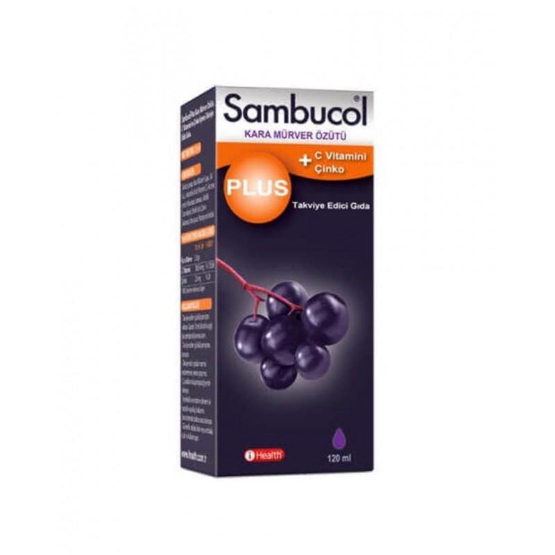 Sambucol Plus + Vitamin C Çinko 120 ml