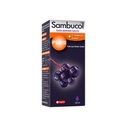 Sambucol Plus + Vitamin C+ Çinko 120 ml Şurup