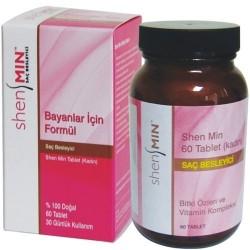 Shen Min Women 60 Tablet (Bayanlar için Saç Besley