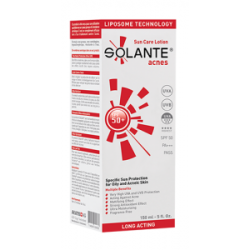 Solante Acnes Sun Care Lotion Spf50+ 150 ml