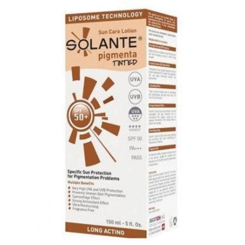 Solante Pigmenta Tinted Spf50 Losyon 150 ml