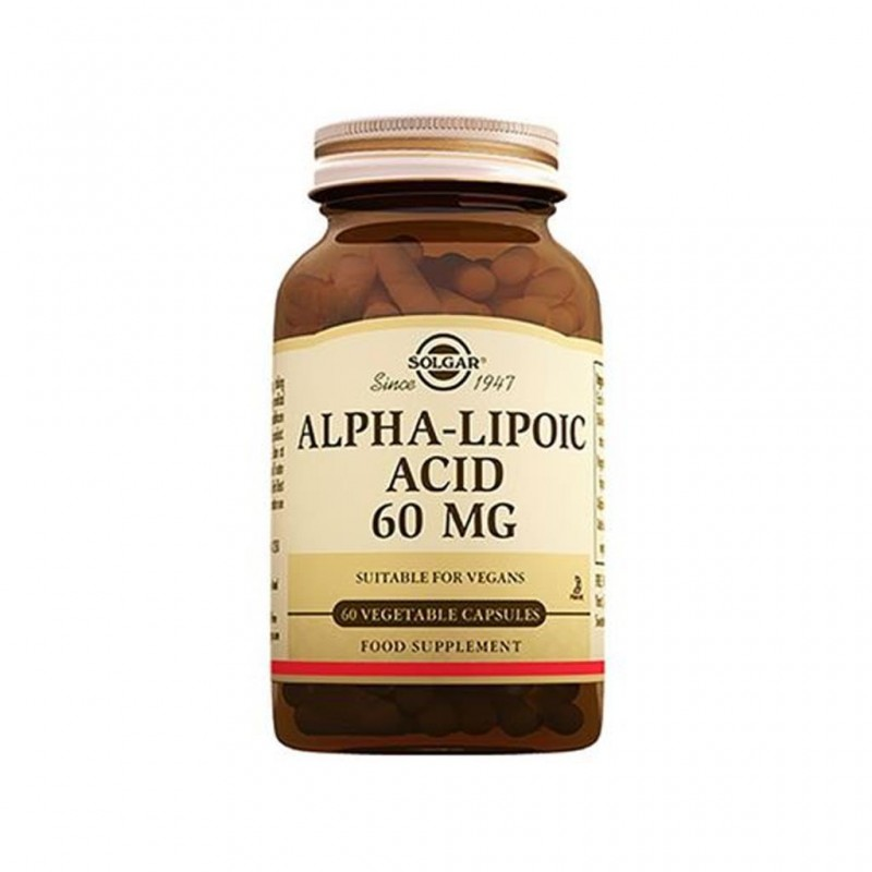 Solgar Alpha Lipoic Acid 60 mg 60 Tablet