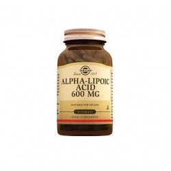 Solgar Alpha Lipoic Acid 600 mg 50 Tablet
