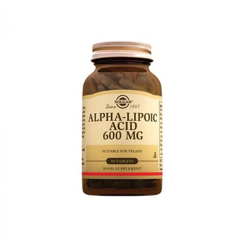 Solgar Alpha Lipoic Acid 600 mg 50 Tablet