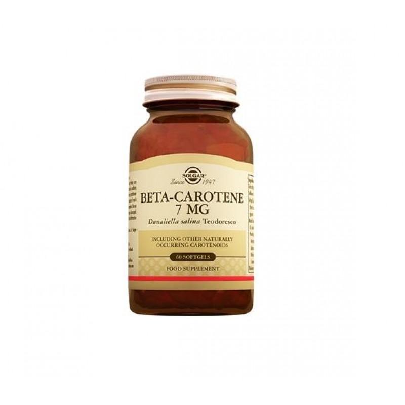 Solgar Beta Carotene 7 mg 60 Softjel