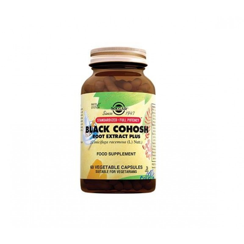 Solgar Black Cohosh Root Extract 60 Kapsül