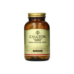 Solgar Calcium 600 (Oyster Shell) 60 Tablet