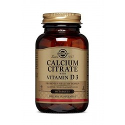 Solgar Calcium Citrat With Vitamin D3 250 mg 60 Tablet