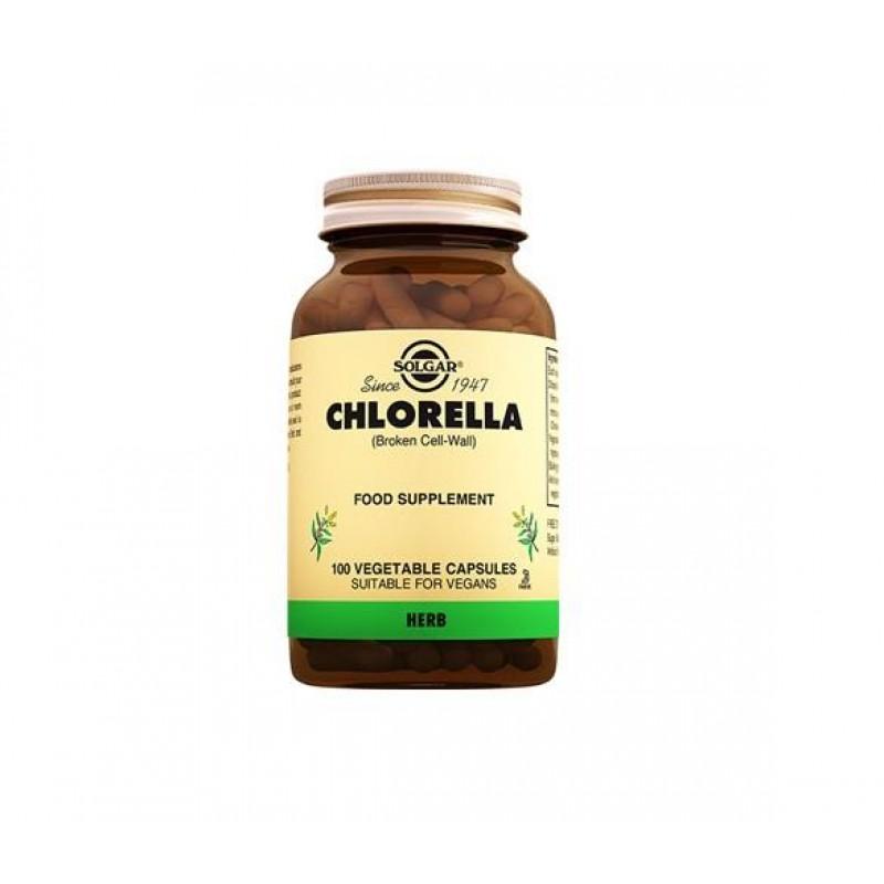 Solgar Chlorella 100 Kapsül