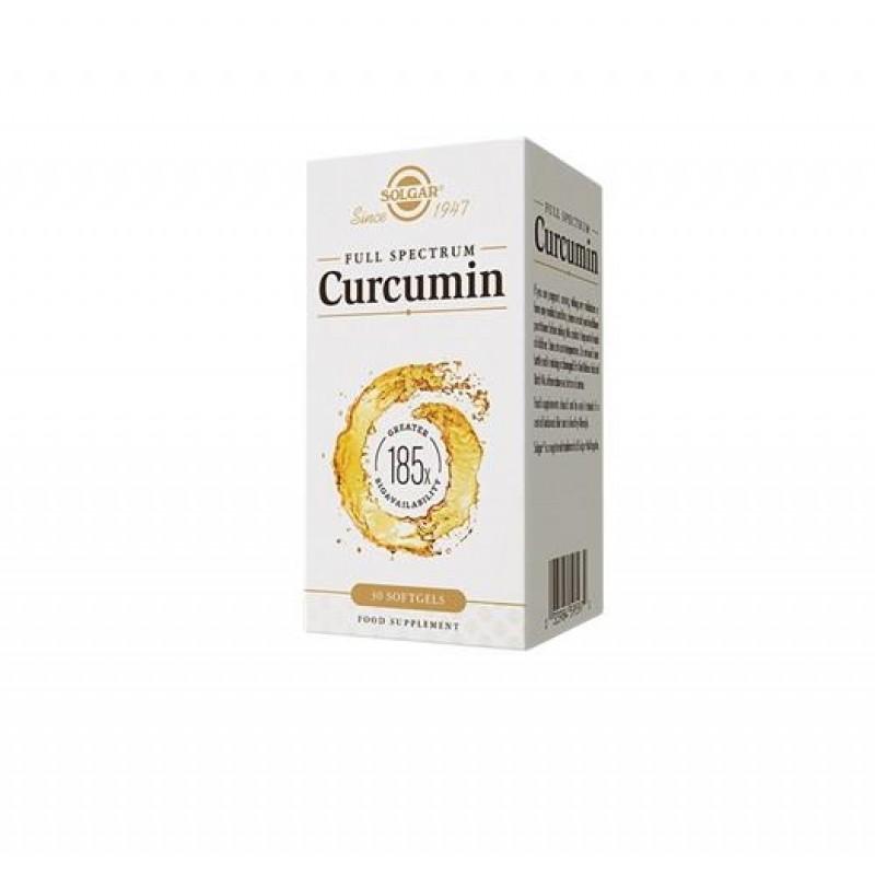 Solgar Curcumin (Full Spectrum) 185X 30 Tablet