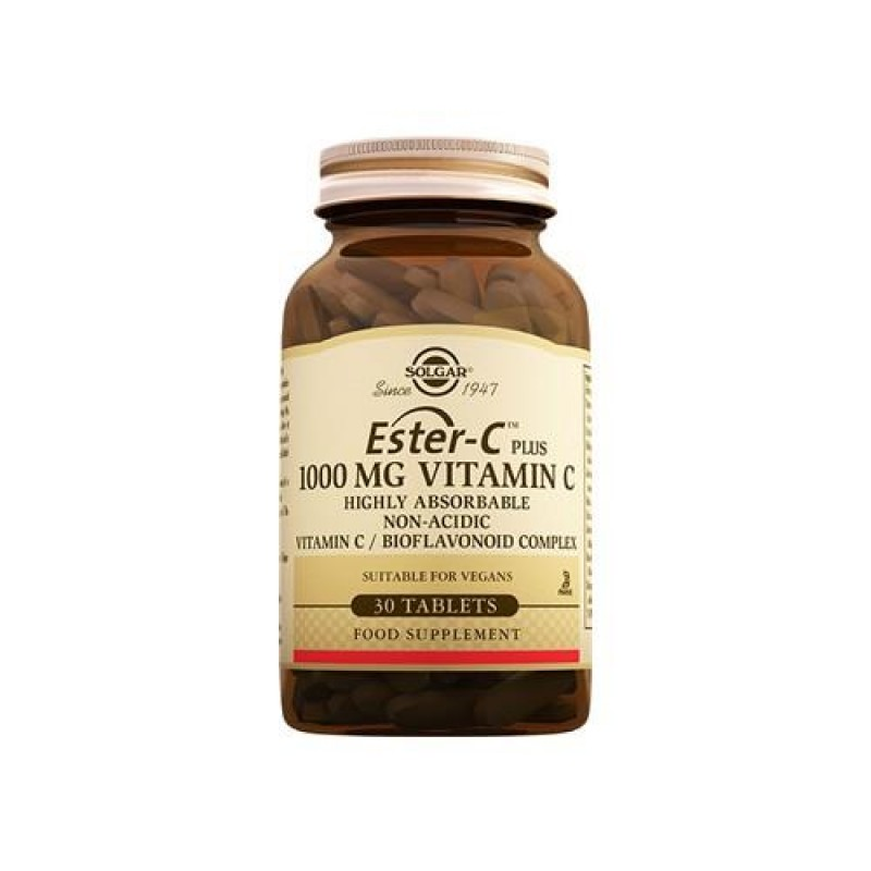 Solgar Ester C Plus 1000 mg 30 Tablet