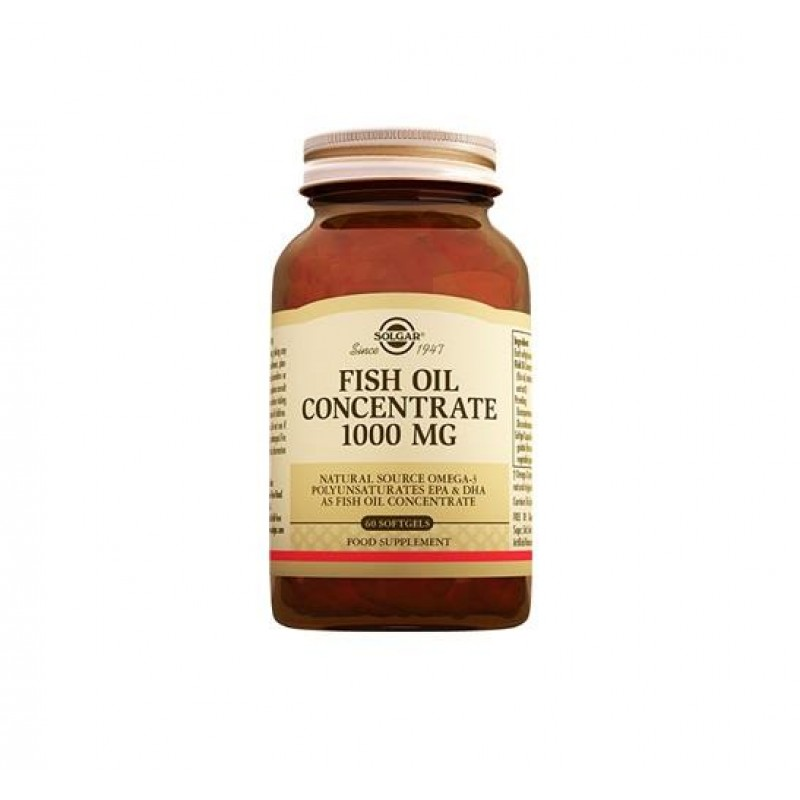Solgar Fish Oil 1000 mg 60 Tablet