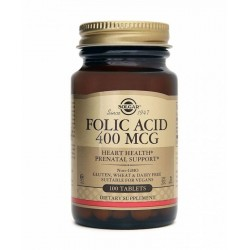 Solgar Folic Acid 100 Tablet