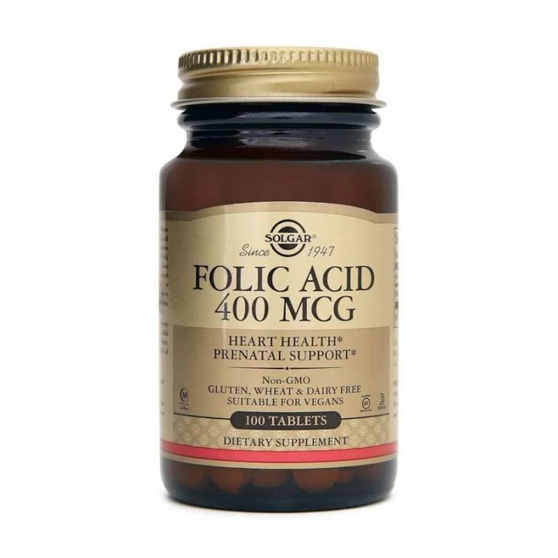 Solgar Folic Acid 100 Tablet
