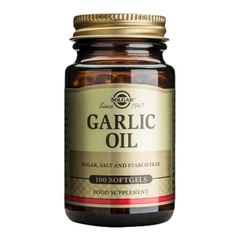 Solgar Garlic Oil 100 Softjel