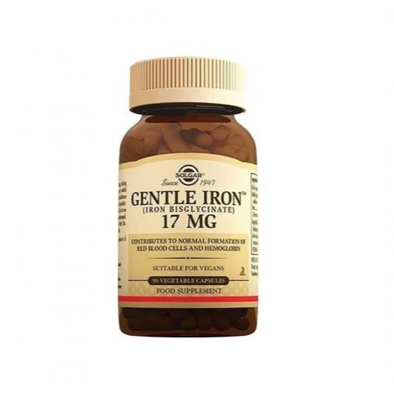 Solgar Gentle Iron 17 mg 90 Kapsül