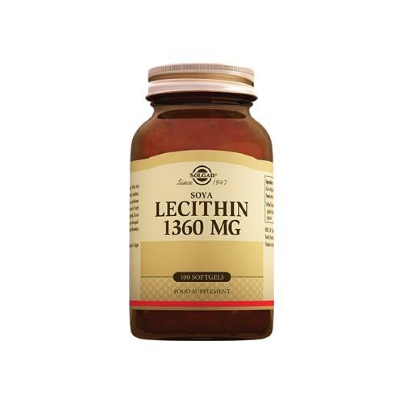 Solgar Lecithin 1360 mg 100 Tablet