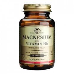 Solgar Magnesium Vitamin B6 100 Tablet