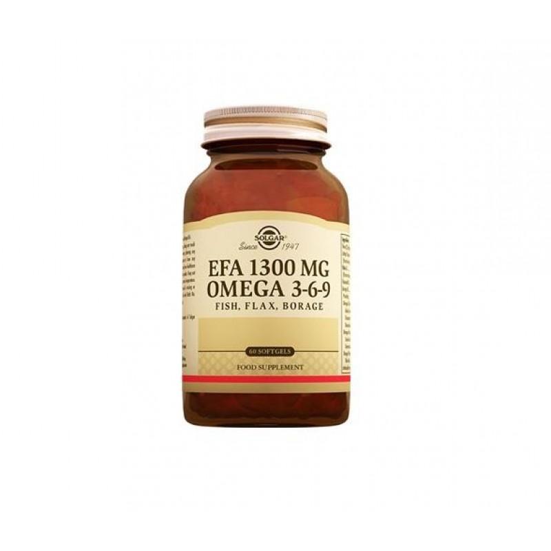 Solgar Omega 3-6-9 EFA 1300 mg 60 Softjel