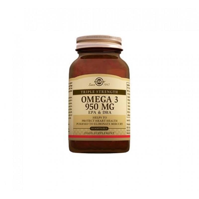 Solgar Omega-3 950 Mg 100 Softgel