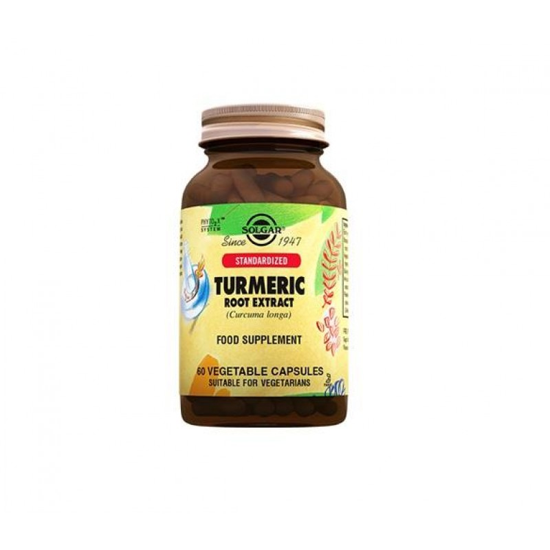 Solgar Turmeric Root Extract 60 Tablet