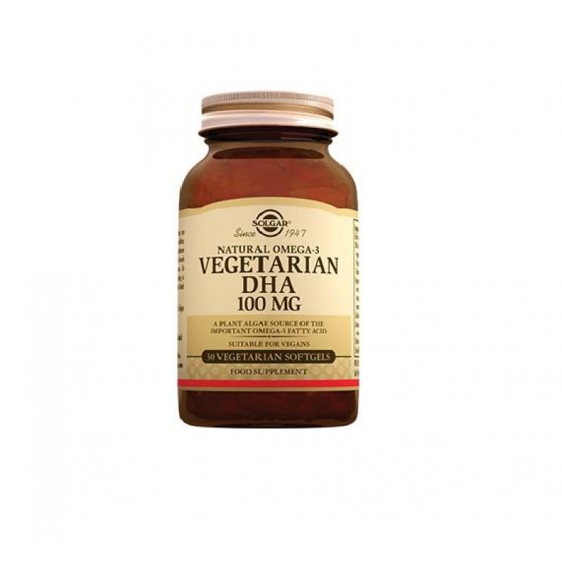 Solgar Vegetarian DHA 100 mg 30 Softjel