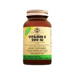 Solgar Vitamin E 200 IU 50 Kapsül