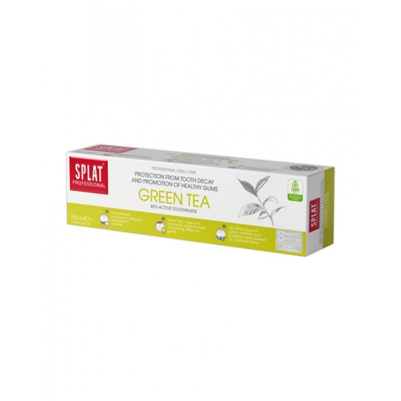Splat Green Tea 100 ml Diş Macunu