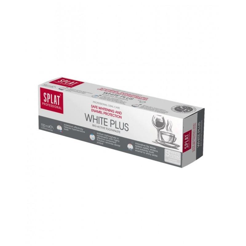 Splat White Plus Diş Macunu 100ml