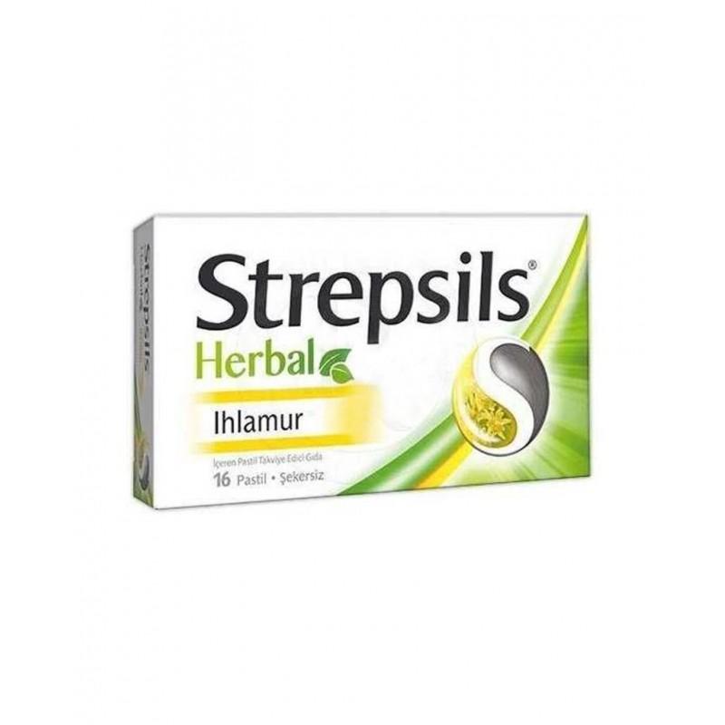 Strepsils Herbal Ihlamur Aromalı 16 Adet