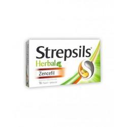 Strepsils Herbal Zencefil Aromalı 16 Adet