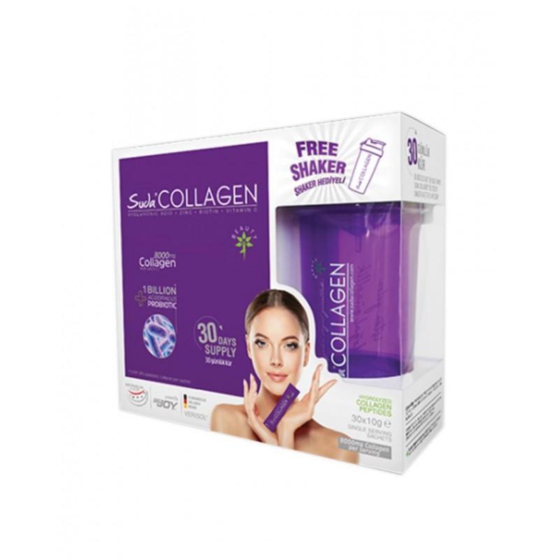 Suda Collagen Probiotic 30 Saşe x 10 gr Karpuz