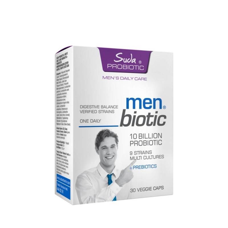Suda Probiotic Menbiotic 30 Bitkisel Kapsül