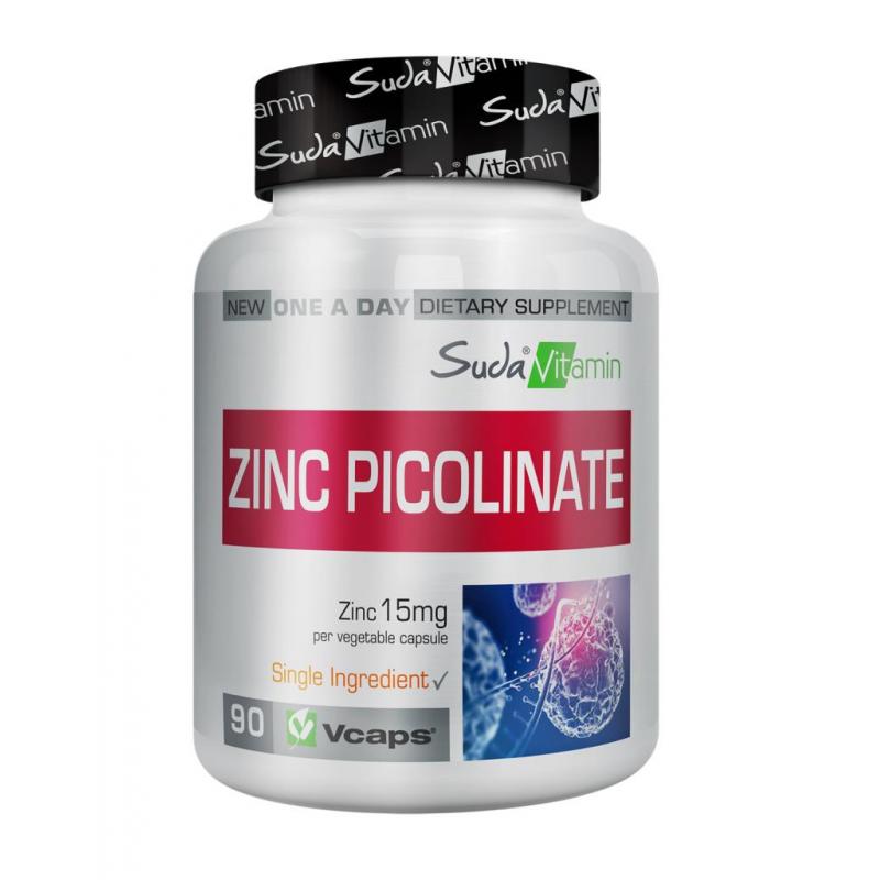 Suda Vitamin Zinc Picolinate 90 Bitkisel Kapsül