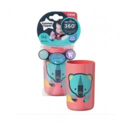 Tommee Tippee 360 Derece Desenli Bardak 250 ml - Pembe