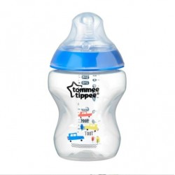 Tommee Tippee Closer to Nature PP Biberon 260 ml Mavi