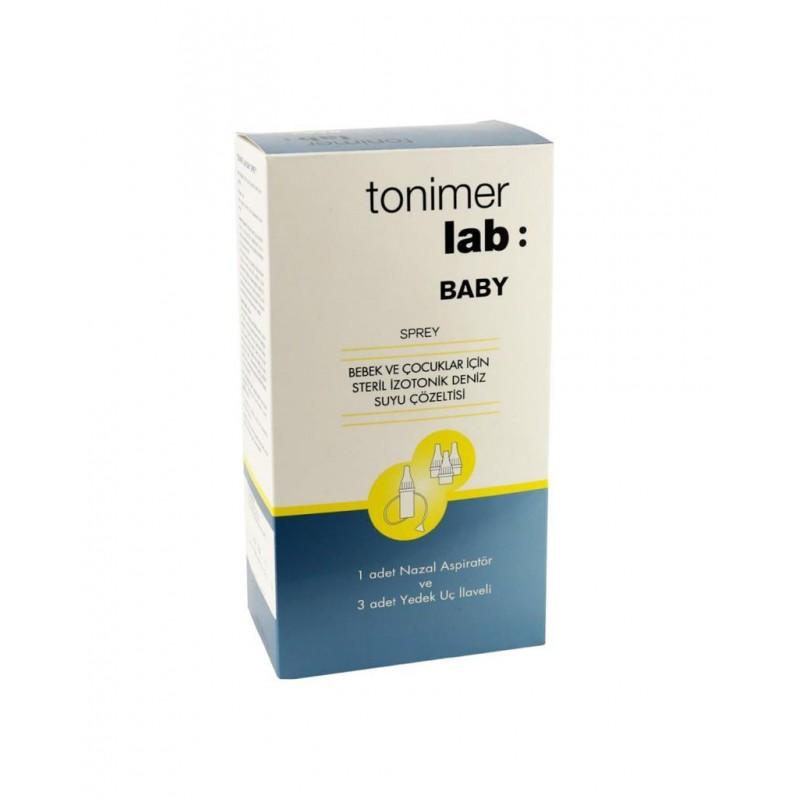 Tonimer Lab Baby Sprey 100 ml + Burun Aspiratörü