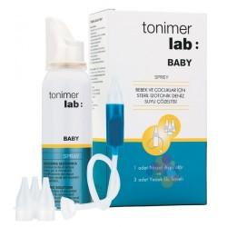 Tonimer Lab Baby Sprey 100 ml - Aspiratör + 3 Adet Yedek Uç Hediyeli