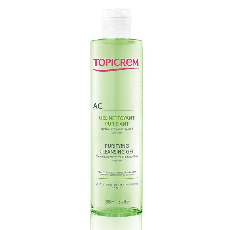 Topicrem AC Purifying Cleansing Gel 200 ml