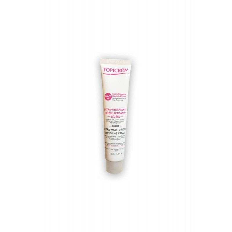 Topicrem Calm Ultra Moisturizing Soothing Cream Legere 40 ml