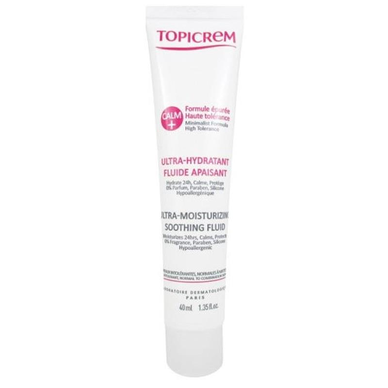 Topicrem Calm Ultra Moisturizing Soothing Fluid 40 ml