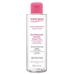 Topicrem Gentle Cleansing Water Face & Eyes 200 ml