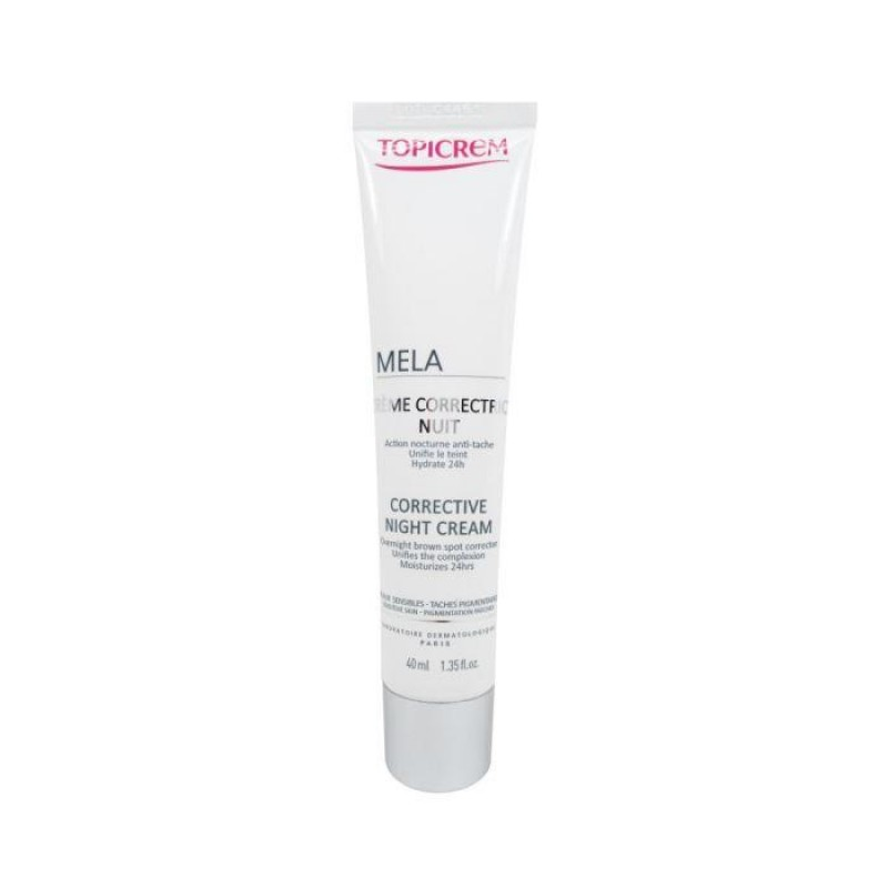 Topicrem Mela Corrective Night Cream Spf20 40 ml